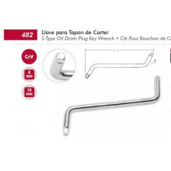 Llave de tapon de carter DOGHER- ref.482-001
