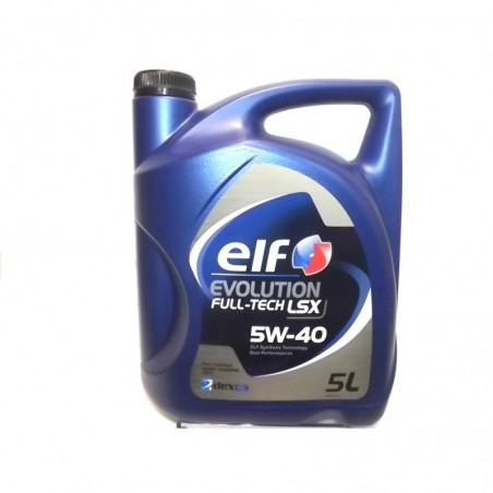 Elf Evolution Full Tech LSX 5w40 - 5 litros